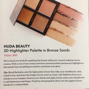 HUDA BEAUTY Makeup - Huda Beauty ~ 3D Highlighter Pallette